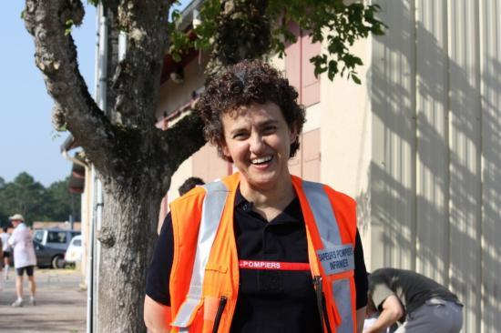 Courir pour le plaisir Le Porge 2011, les bénévoles qui font la course (tous ne sont pas sur les photos)
