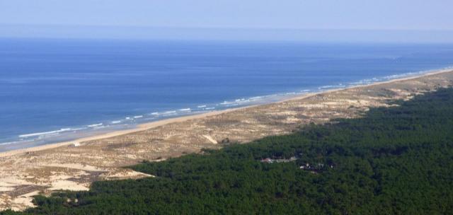 LE PORGE plage Cote Atlantique